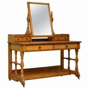 1875 DOCUMENTED GILLOWS OF LANCASTER AESTHETIC MOVEMENT DRESSING TABLE LIBERTYS