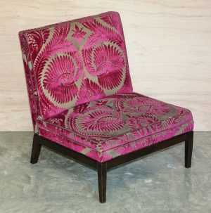 RRP £3,830 GEORGE SMITH NORRIS ARMCHAIR FOR REUPHOLSTERY OR RESTORATION PROJECT