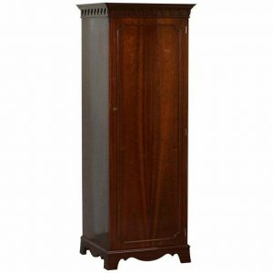 NEW OLD STOCK BEVAN FUNNEL MAHOGANY HALL CUPBOARD WARDROBE WHICH SHELVES