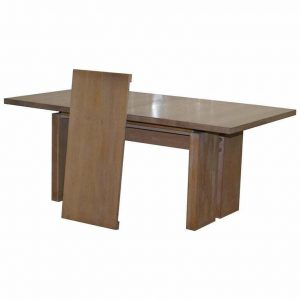 ORUM MOBLER DENMARK CONTEMPORARY SOLID ASH WOOD EXTENDING DINING TABLE 180-224CM