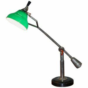 RARE ORIGINAL CIRCA 1925 ART DECO EDOUARD WILFRED BUQUET FRENCH ARTICULATED LAMP