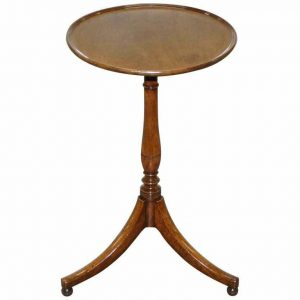 RARE GEORGE IV CIRCA 1820 MAHOGANY TRIPOD SIDE END TIMELESS DESIGN AFTER GILLOWS